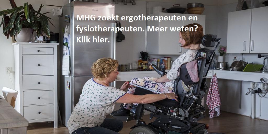 Werken bij MHG: vacatures voor ergotherapeuten en fysiotherapeuten
